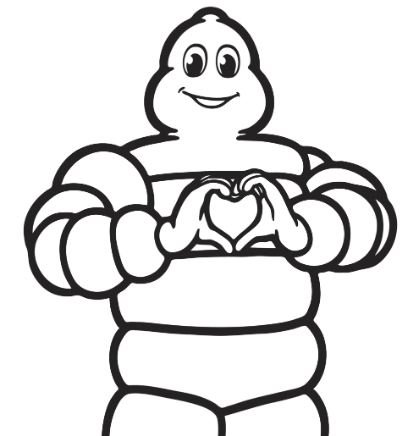 michelin man heart