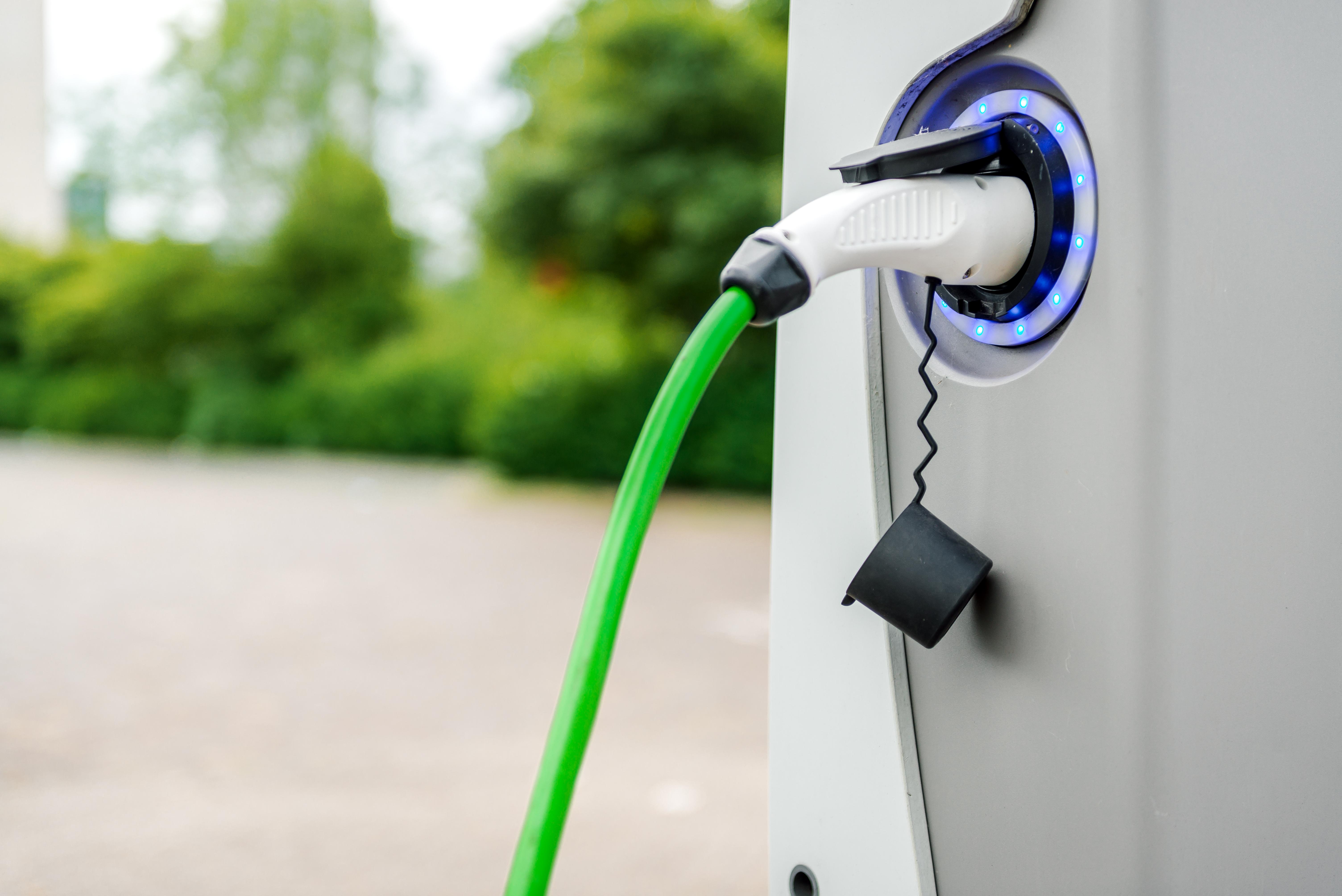Estación de carga de vehículos eléctricos